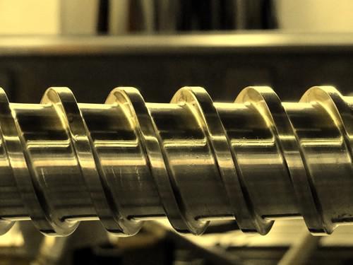 Rosca extrusora fabricação