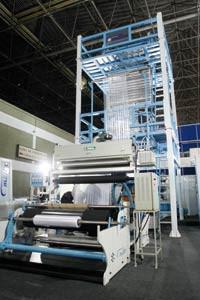 Fábrica de máquinas extrusoras
