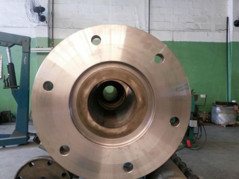 Usinagem de peças pesadas