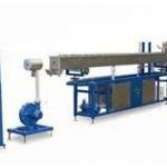 Fábrica de extrusoras de plástico